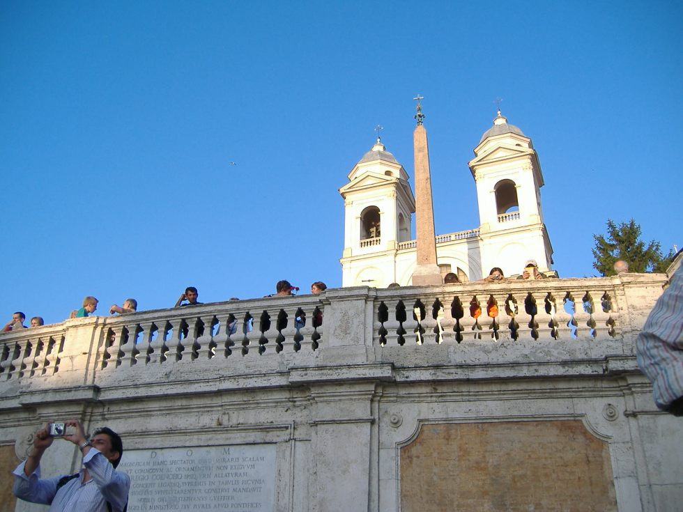 The Spanish Steps (Piazza di Spagna) by day.