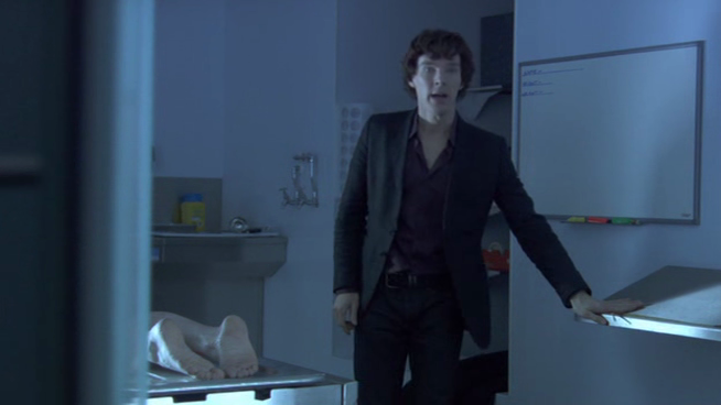"Everything Else Is Just Transport "" — Sherlock: A Study in Pink 1 0"