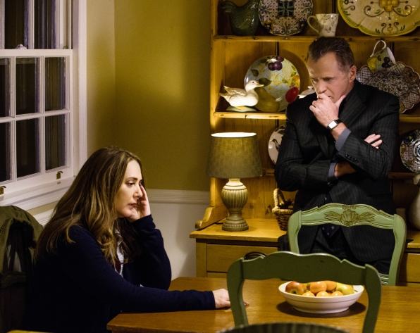 Tommy Gregson (Aidan Quinn) and his wife Sheryl
