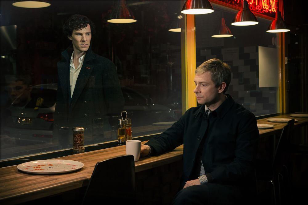 Sherlock and John exclusive Series 3