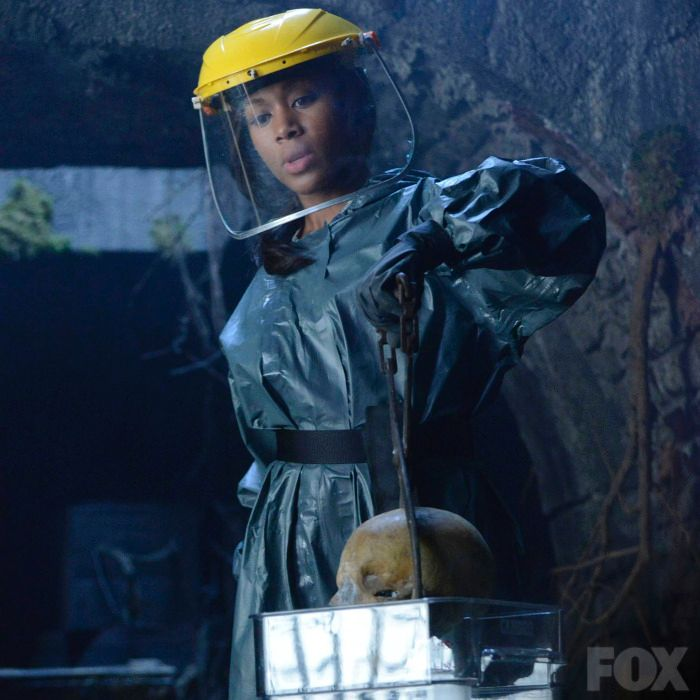 Abbie Mills (Nicole Beharie) on Sleepy Hollow — or Mythbusters?