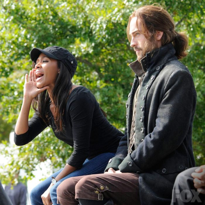 Abbie and Ichabod