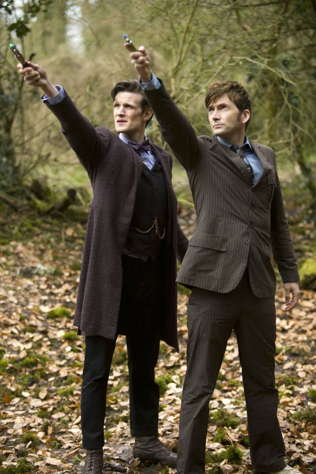 thedayofthedoctor ten and eleven
