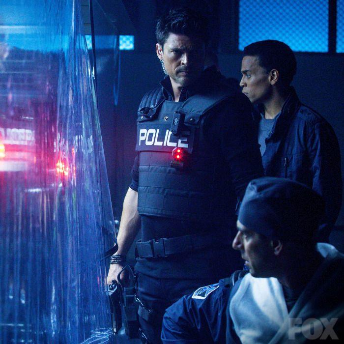 John and Dorian during the raid