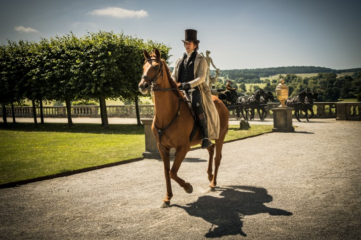 Alveston, lawyer on horseback