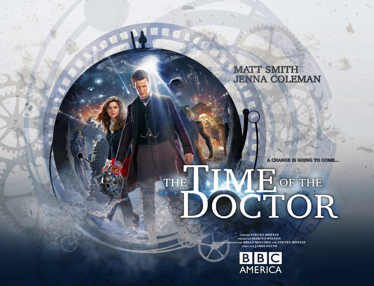 Official poster for the Christmas Special 2013
