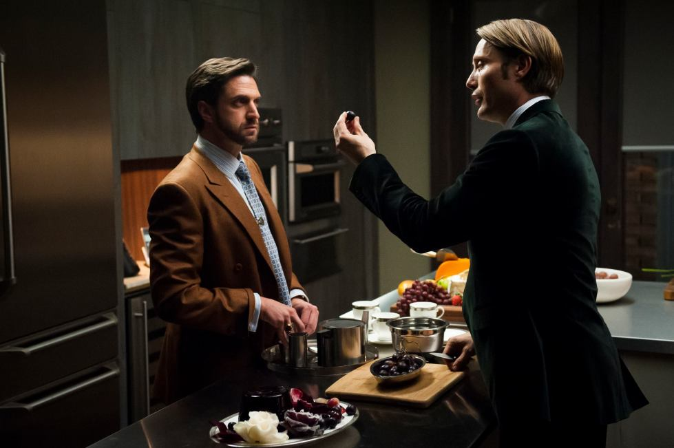 Dr Chilton and Dr Lecter