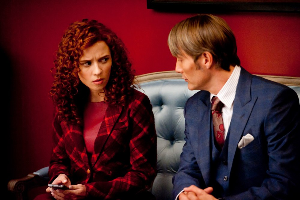 Freddie Lounds and Hannibal