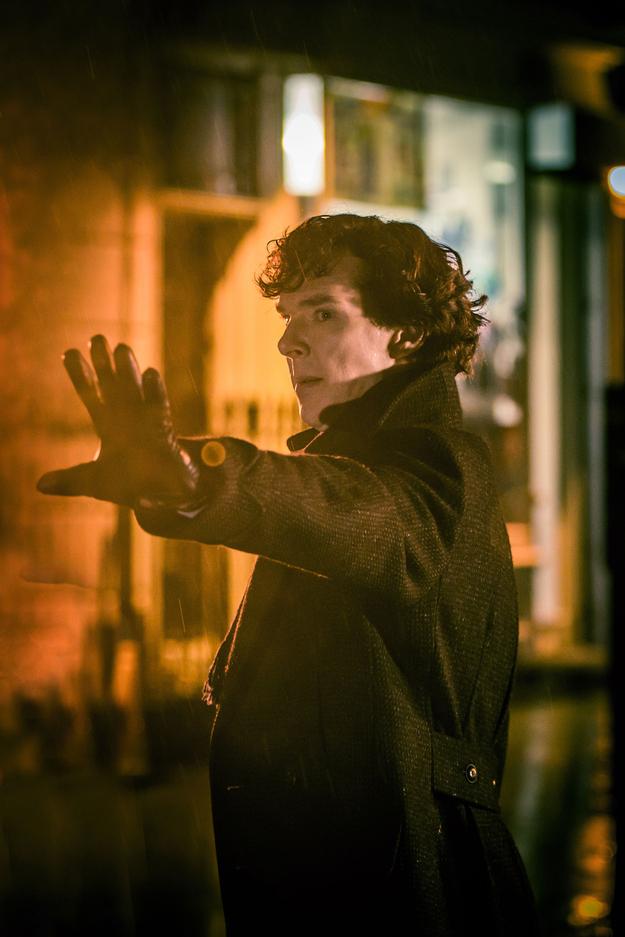 Benedict Cumberbatch in The Empty Hearse