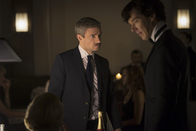 John and Sherlock. Not dead.