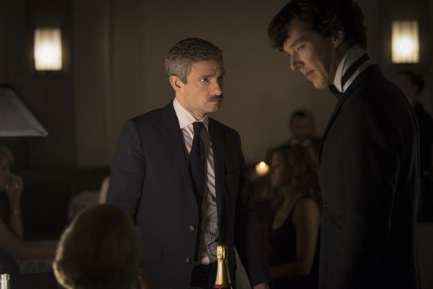 John and Sherlock. Not dead.