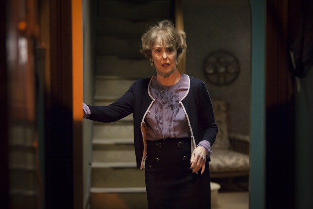 Una Stubbs, playing Mrs Hudson