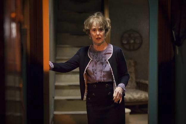 Una Stubbs, playing Mrs Hudson