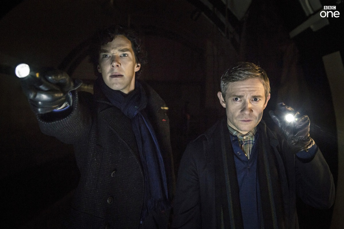 Sherlock and John investigate the terrorist threat on Parliament
