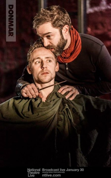 Coriolanus putting himself at Aufidius' mercy