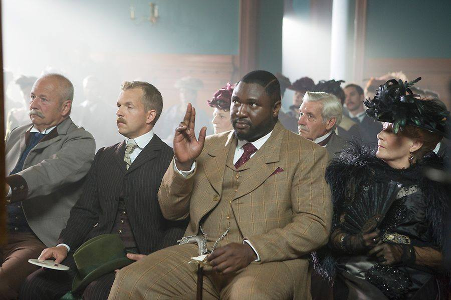Renfield during the auction