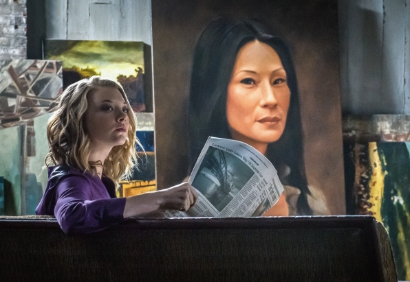 Moriarty and her painting of Joan