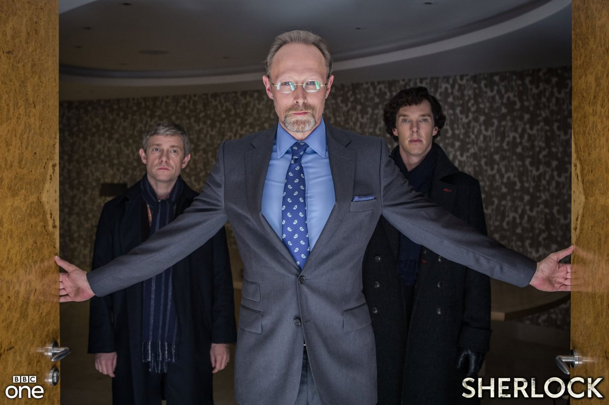 John, Magnussen, and Sherlock