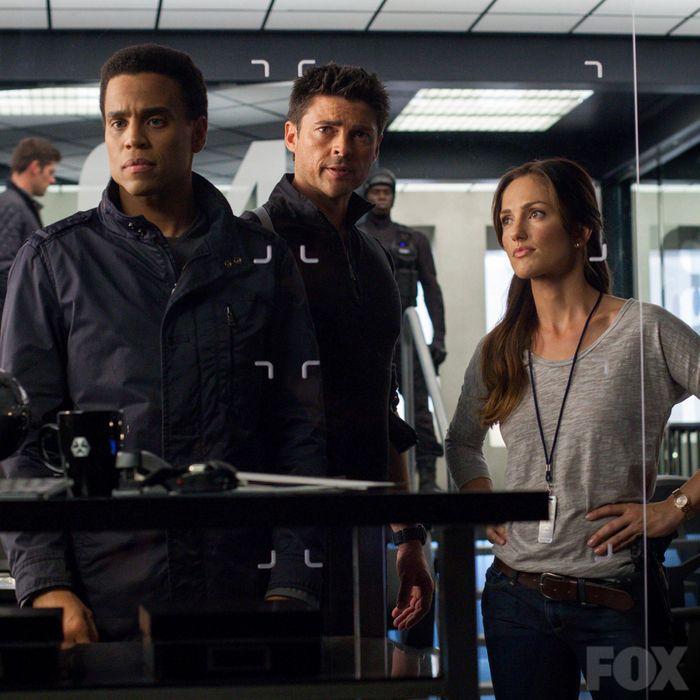 left to right: Dorian, John, and Valerie