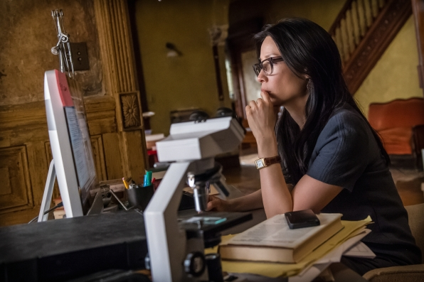 Lucy Liu plays Joan Watson in Elementary's second season finale
