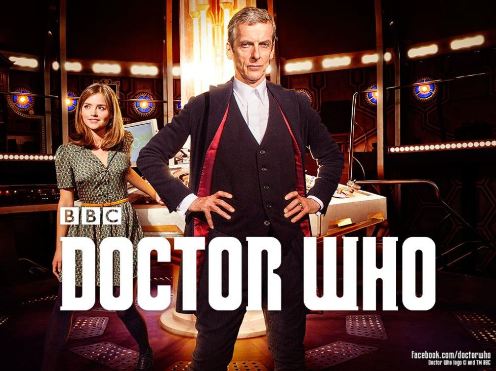 the first official promo pic for Series 8 of Doctor Who