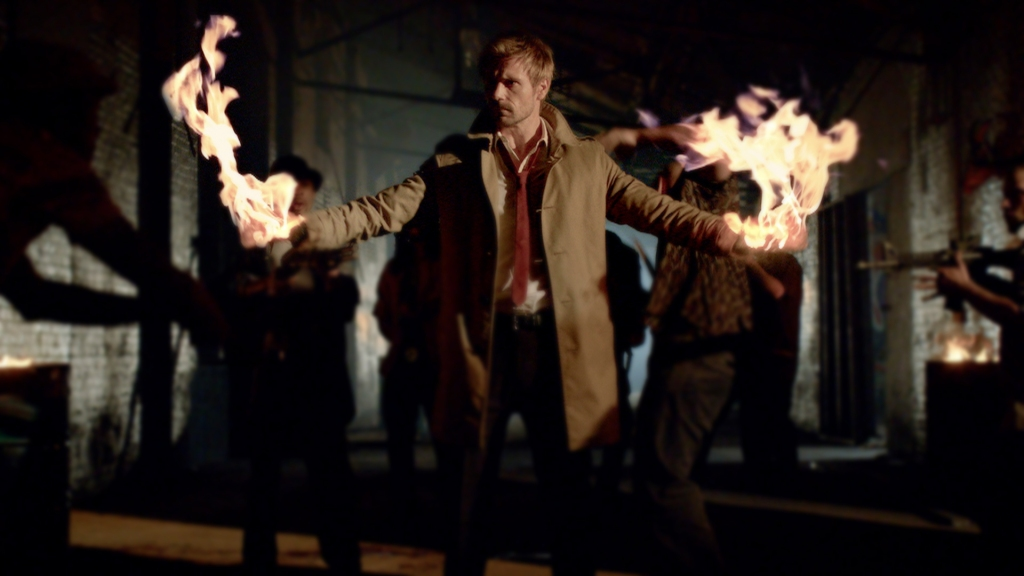 Matt Ryan plays John Constantine on NBC