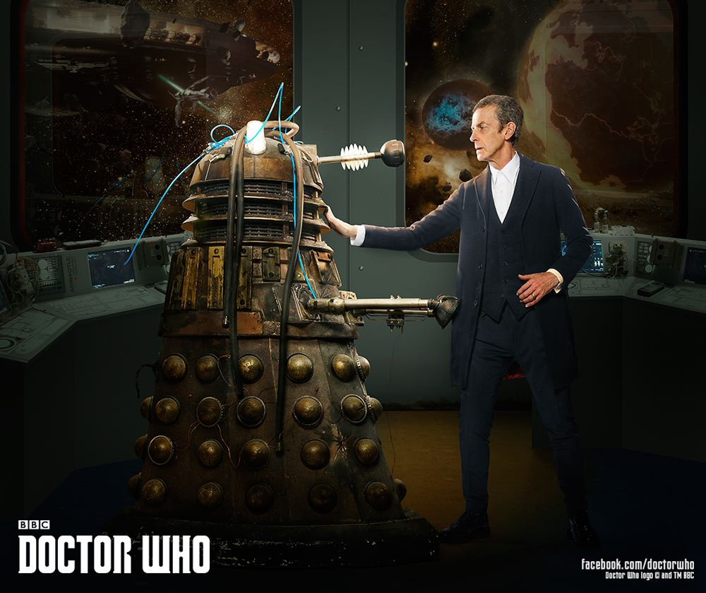 The Doctor and the damaged Dalek