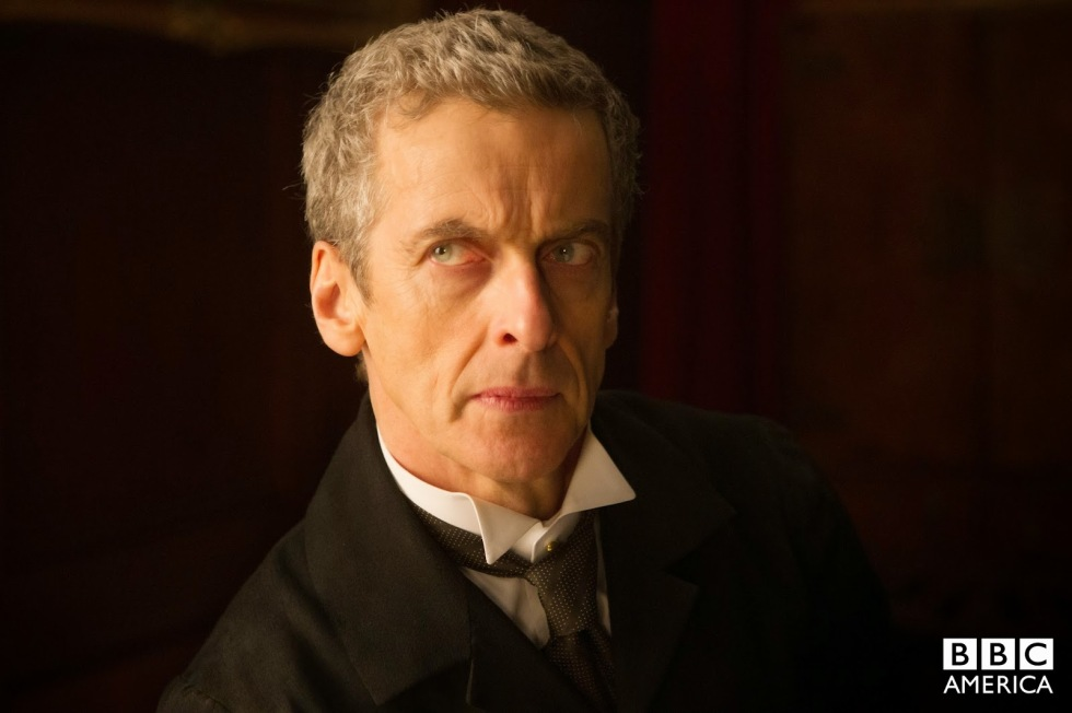 Peter Capaldi plays the Doctor in Deep Breath