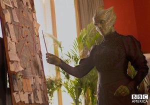 Neve McIntosh plays Madame Vastra
