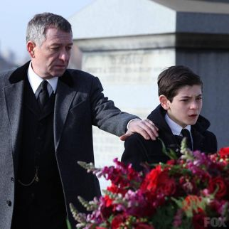 Sean Pertwee plays Alfred Pennyworth, now guardian to Bruce Wayne