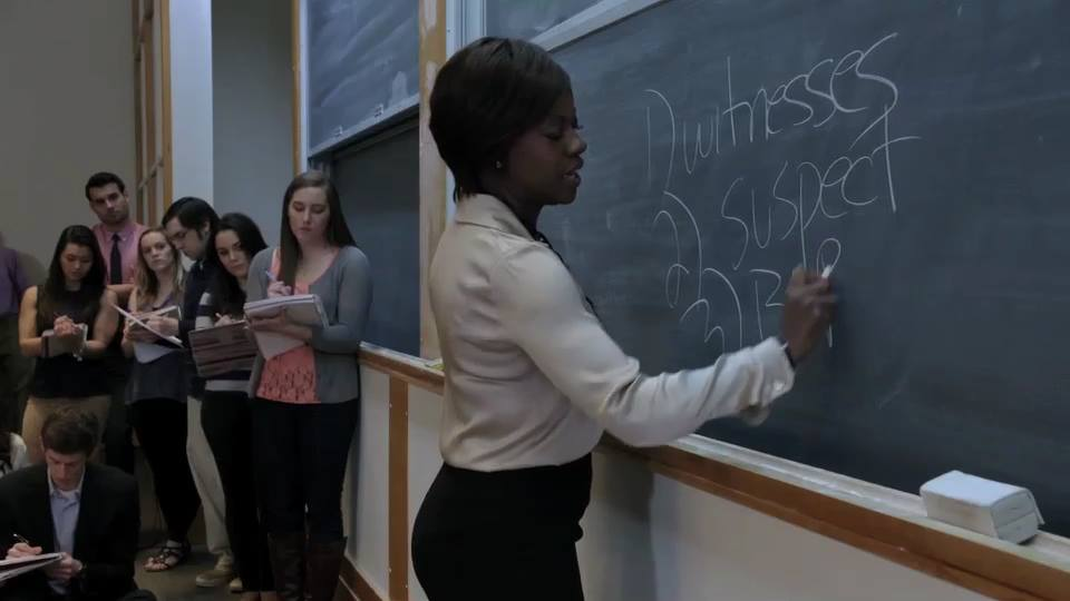 Viola Davis plays Professor Annalise Keating