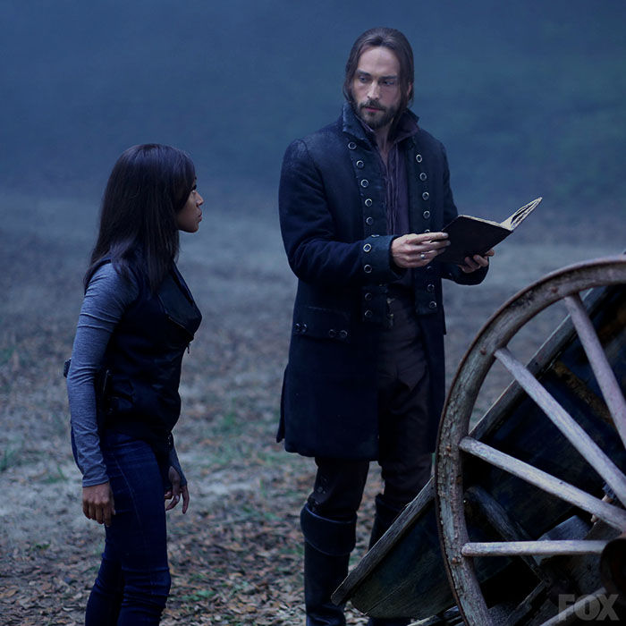 Nichole Beharie and Tom Mison in Season 2, Episode 2, The Kindred