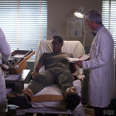 Captain Irving at the psych ward