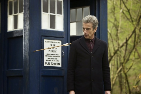 The Doctor steps out of the TARDIS to find that Robin Hood is indeed real.