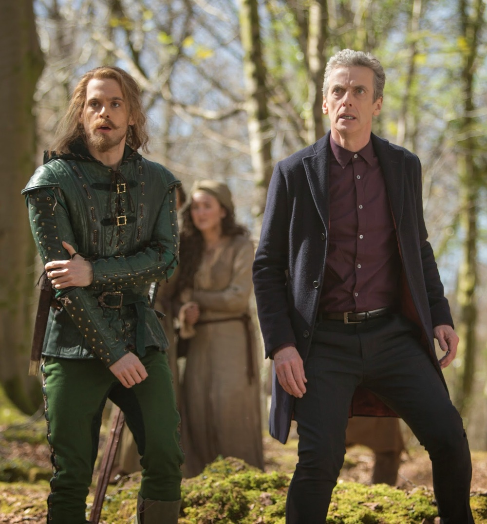 doctor who sherwood robin and doctor
