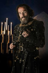 Ben Miller as the sinister and slightly camp Sheriff of Nottingham