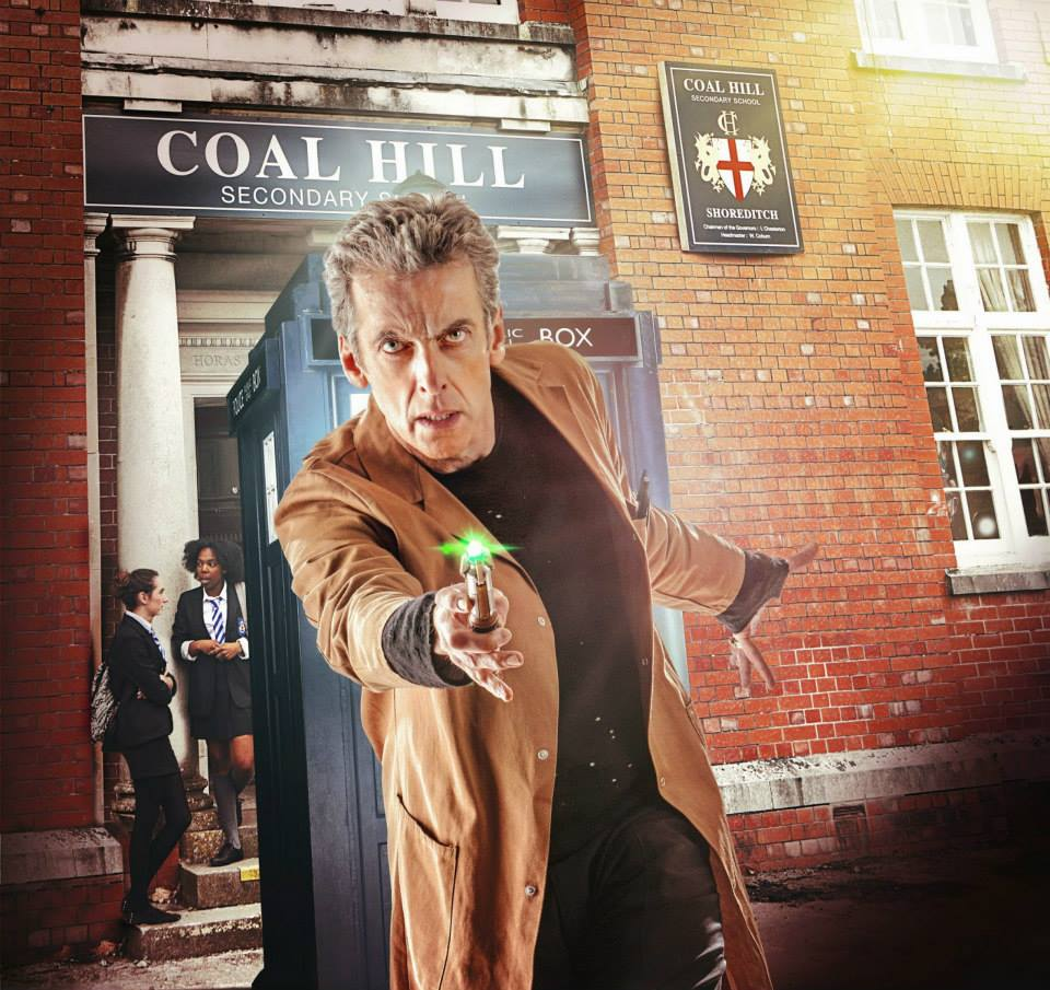 Doctor Who The Caretaker promo