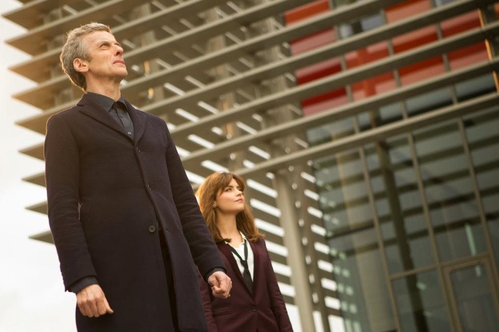 The Doctor and Clara in Karabraxos.