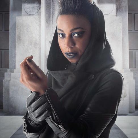 Saibra, mutant human, touch shapeshifter.