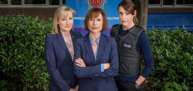Lesley Sharp, Amelia Bullmore, and Suranne Jones