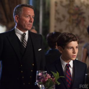 Alfred and Bruce at the charity gala