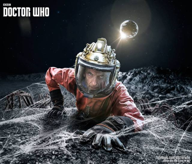 Peter Capaldi is the Doctor in Kill the Moon