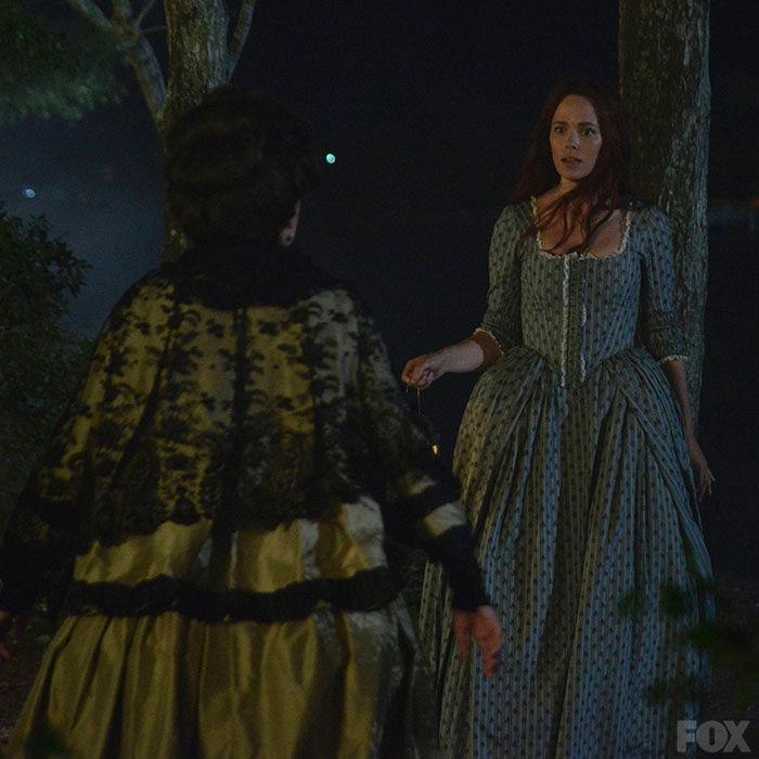 Katrina encounters Mary