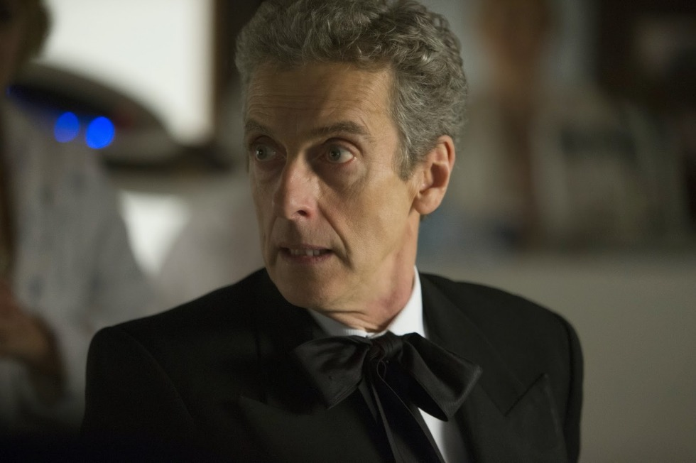 Capaldi in a very First Doctor outfit