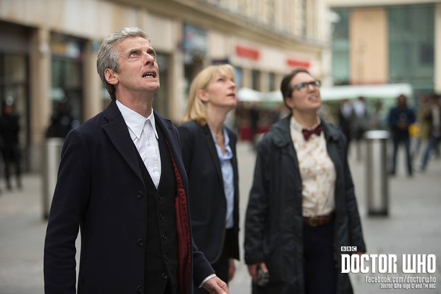 The Doctor, Kate, and Osgood