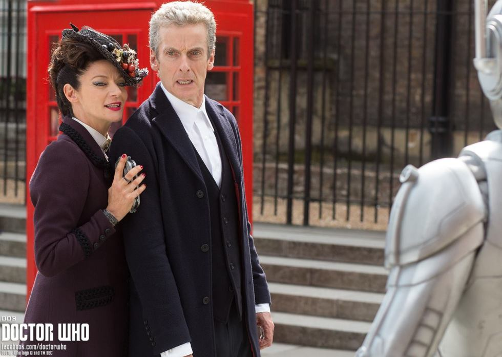The Master and the Doctor, reunited at last