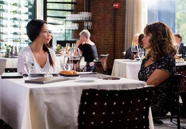 Joan and Elana at lunch