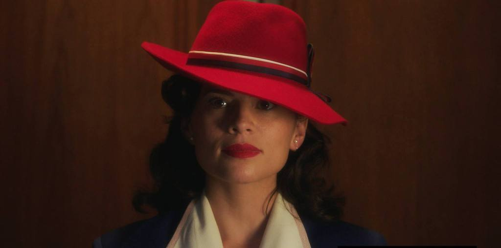 Hayley Atwell is Agent Peggy Carter