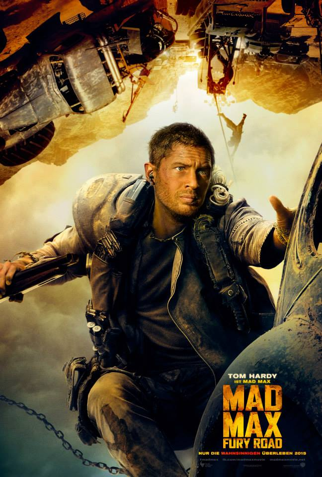 Tom Hardy as Mad Max