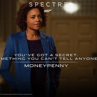 Naomie Harris plays Eve Moneypenny in SPECTRE